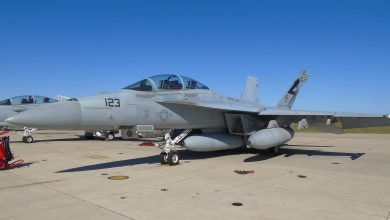 Photo of Boeing test nieuwe infrarood sensor F/A-18 Super Hornet