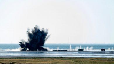 Photo of F-16's gooien hele week bommen op Vlieland