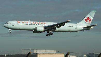 Photo of Air Canada 767 verliest onderdeel van landingsgestel