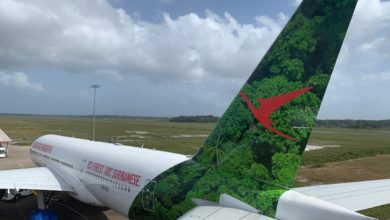 Photo of Surinam 777 voor het eerst naar Schiphol via bijzondere route
