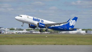 Photo of Motor GoAir A320neo vat vlam tijdens start | Video