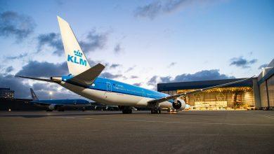 Photo of KLM ontvangt nieuwe Dreamliner: Hyacinth   Foto's