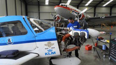 Photo of Aircraft Maintenance Netherlands naar Lelystad Airport