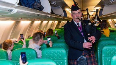 Photo of Schots onthaal voor Nederlandse Transavia | Foto's