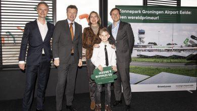 Photo of Groningen Airport opent zonnepark in strijd tegen CO2