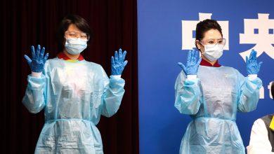 Photo of Cabinecrew maatschappijen Taiwan voorlopig in dokterskleding