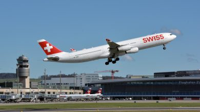 Photo of Swiss begint met eerste vluchten tussen Zürich en Osaka | Foto's