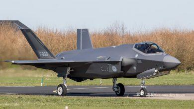 Photo of F-35 maakt voorzorgslanding op Vliegbasis Leeuwarden