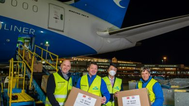 Photo of Chinese airlines helpen KLM