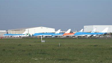 Photo of Foto: 747's van KLM ontdaan van logo