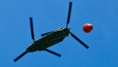 Photo of Chinook ingezet bij blussen natuurbrand Deurne