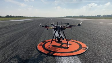 Photo of Groningen Airport test baaninspectie met drones