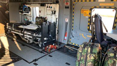 Photo of Defensie neemt tijdelijk patiëntentransport Waddeneilanden over met NH90