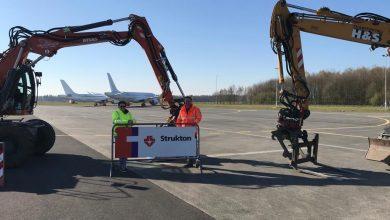Photo of Twente Airport maakte ruimte voor parkeerplekken vliegtuigen