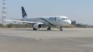 Photo of A320 van Pakistan International gecrasht in woonwijk Karachi