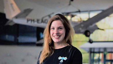 Photo of Olga Lubbers bouwt met AeroDelft vliegtuig op vloeibare waterstof | longread
