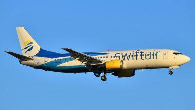 Photo of Landende Swift Air 737 blijkt deel van staart te missen