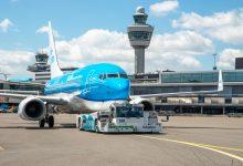 Photo of KLM doet mee aan duurzaam taxiën proef Schiphol