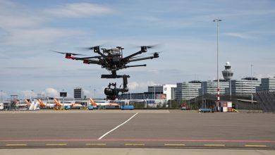 Photo of Schiphol test drones voor inspectie en goederenvervoer