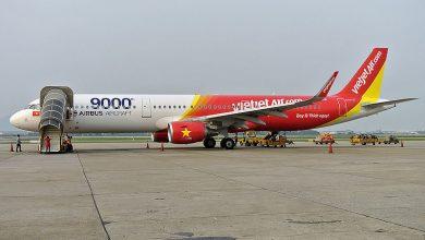 Photo of VietJet Airbus A321 schiet van de baan | Foto's