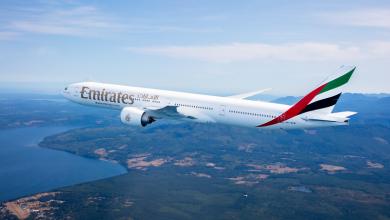Photo of Emirates hervat vluchten naar Amsterdam