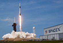 Photo of SpaceX-bemanning aangekomen bij International Space Station