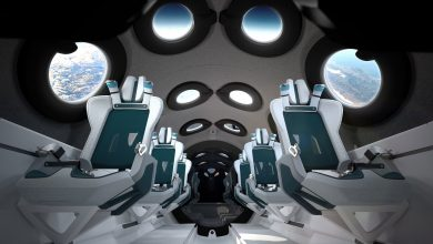 Photo of Virgin Galactic onthult cabine van ruimtevliegtuig
