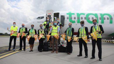 Photo of Transavia voor het eerst weer vertrokken vanaf Groningen