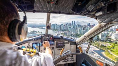 Photo of Ter zee en in de lucht   Vliegen bij Vancouver