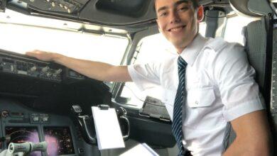 Photo of Piloot in opleiding: 'ook in deze tijd, doorgaan en positief blijven' | Interview