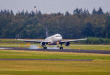 Photo of Airbus A319 van Brussels Airlines landt op Twente voor demontage | Foto's