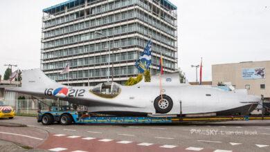Photo of Catalina komt aan in Transport Museum Nieuw-Vennep | Foto's