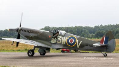 Photo of Tweede Spitfire met Nederlandse registratie