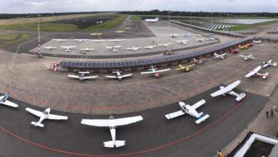 Photo of Video: 140 vliegtuigen bij fly-in op Groningen Airport Eelde