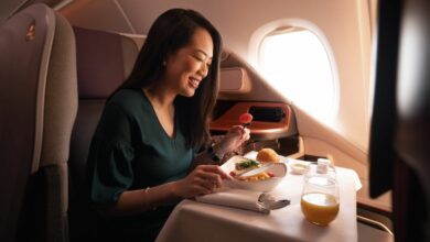 Photo of Singapore Airlines opent A380-restaurant