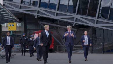 Photo of Video: Koning bezoekt Schiphol in coronatijd