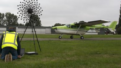 Photo of TU Delft start met geluidsmetingen elektrische Cessna Skymaster