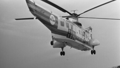 Photo of De helikopterafdeling van KLM | Video