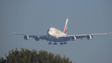 Photo of A380 maakt extreem harde landing tijdens storm | Video