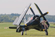 Photo of De F4U Corsair met opvouwbare vleugels | Video