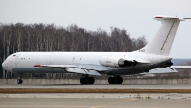 Photo of Ilyushin Il-62 landt met reversers aan | Video