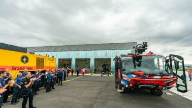 Photo of Nieuwe brandweerkazerne Rotterdam in gebruik genomen