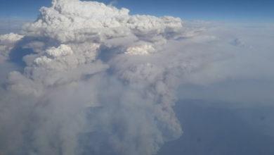 Photo of Spectaculair uitzicht vanuit de lucht door bosbranden| Foto's