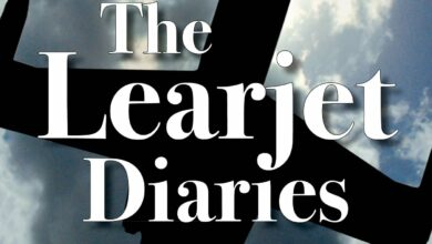 "Photo of ""The Learjet Diaries"" door Greg Madonna 