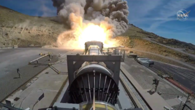 Photo of Video: NASA test krachtigste booster ooit voor Maan-missies