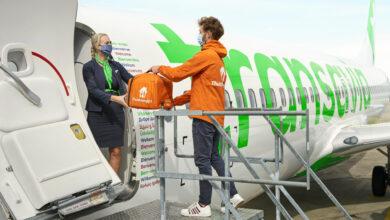Photo of Thuisbezorgd nu ook aan boord van Transavia-vluchten