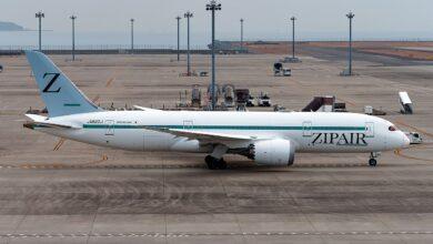 Photo of ZIPAIR voert eerste vlucht uit met slechts twee passagiers aan boord