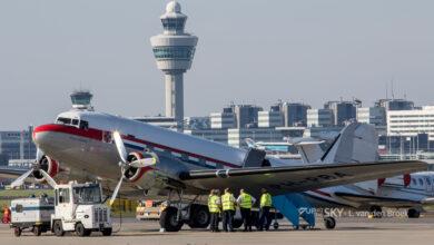Photo of Dutch Dakota keert terug naar Schiphol
