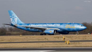 Photo of Vliegtuigen met een speciale sport livery | Foto's
