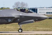 Photo of Luchtmacht ontvangt haar dertiende F-35 | Video